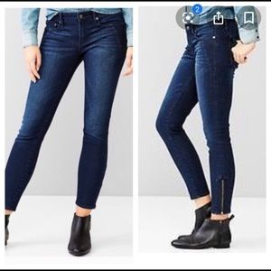 💝GAP Zipper Ankle Skinny Jean💝